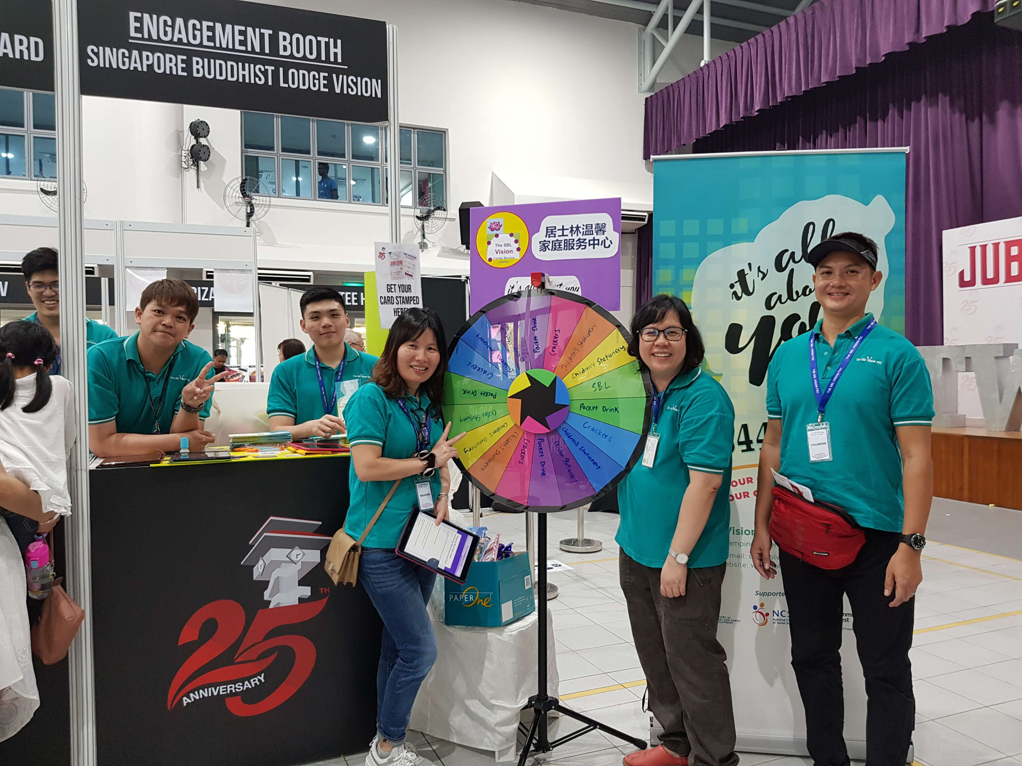 Past Event: Silver Jubilee Open House at Tampines West CC