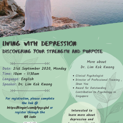 Past Event: Living with Depression - Discovering Your Strength and Purpose
