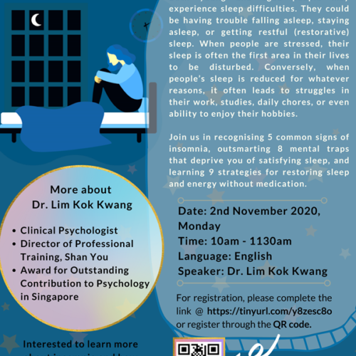 Past Event: Super Sleep: Skills (Not Pills) for Overcoming Insomnia