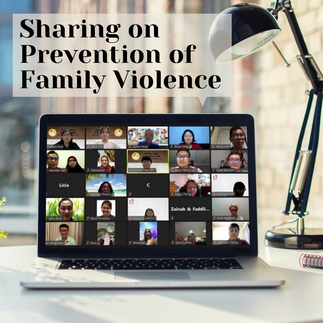 Past Event: Sharing on Prevention of Family Violence
